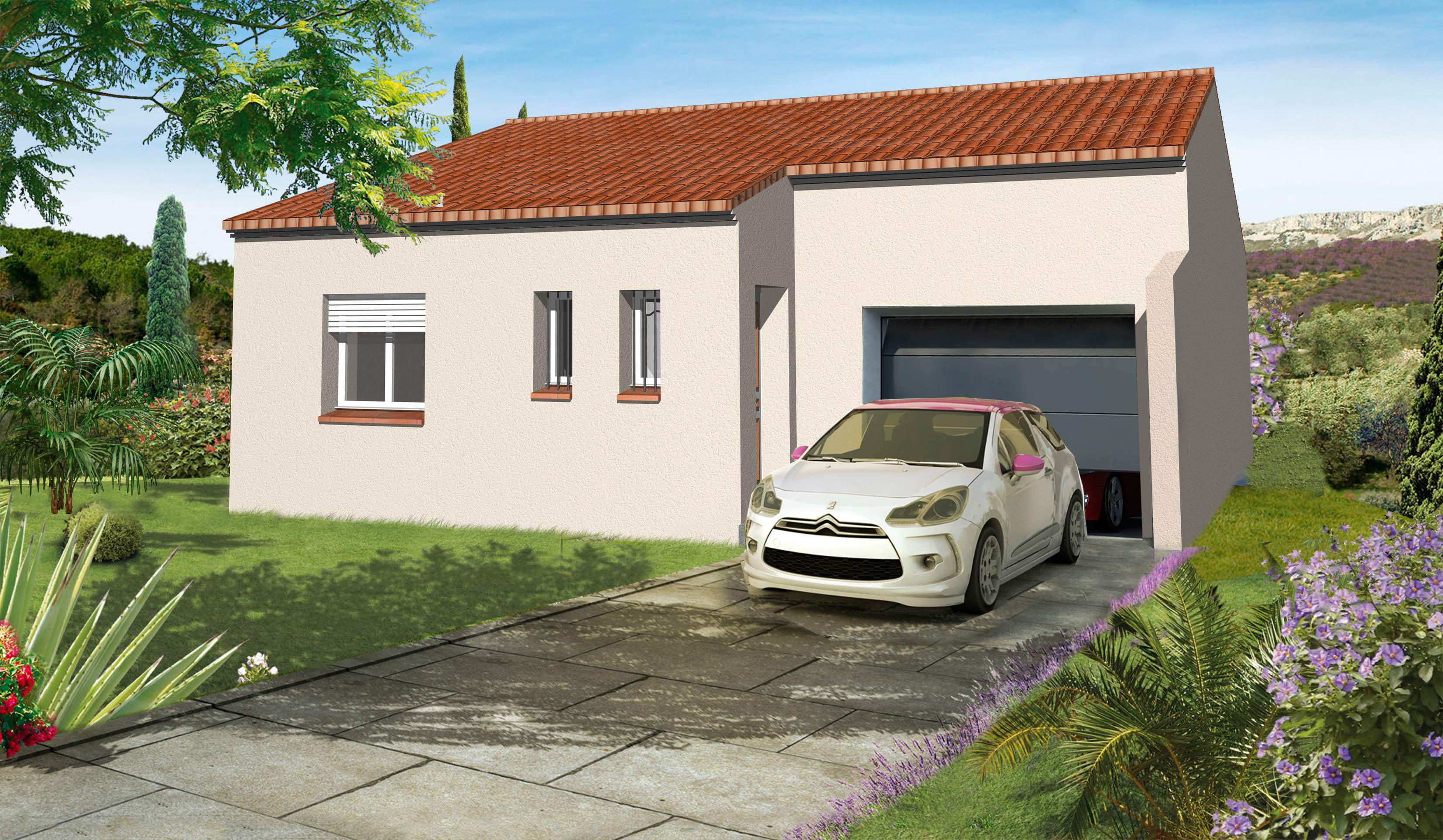 Maisons + Terrains du constructeur XXL CREATION • 62 m² • ORTAFFA