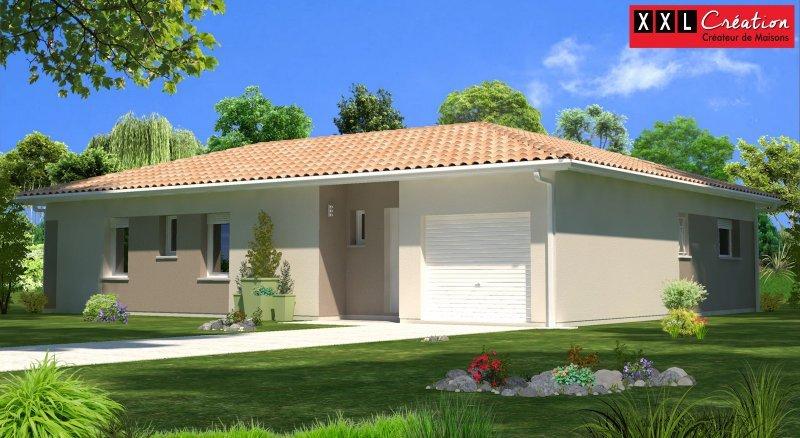 Maisons du constructeur XXL CREATION • 110 m² • SALSES LE CHATEAU