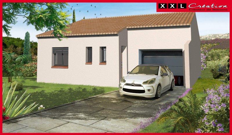 Maisons du constructeur XXL CREATION • 63 m² • MILLAS