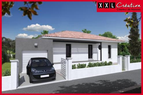 Maisons du constructeur XXL CREATION • 60 m² • PEZILLA LA RIVIERE