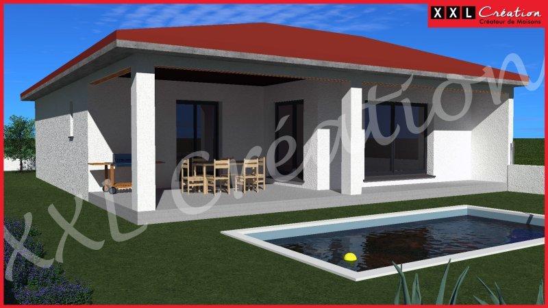 Maisons du constructeur XXL CREATION • 90 m² • BAIXAS