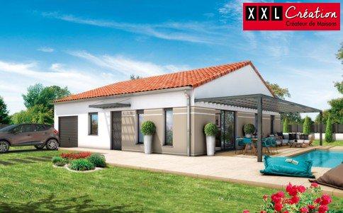 Maisons du constructeur XXL CREATION • 65 m² • LE SOLER