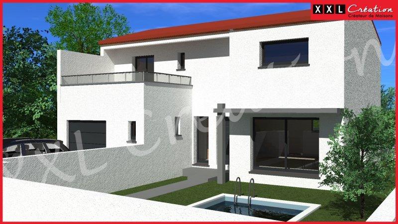 Maisons du constructeur XXL CREATION • 91 m² • CORBERE LES CABANES