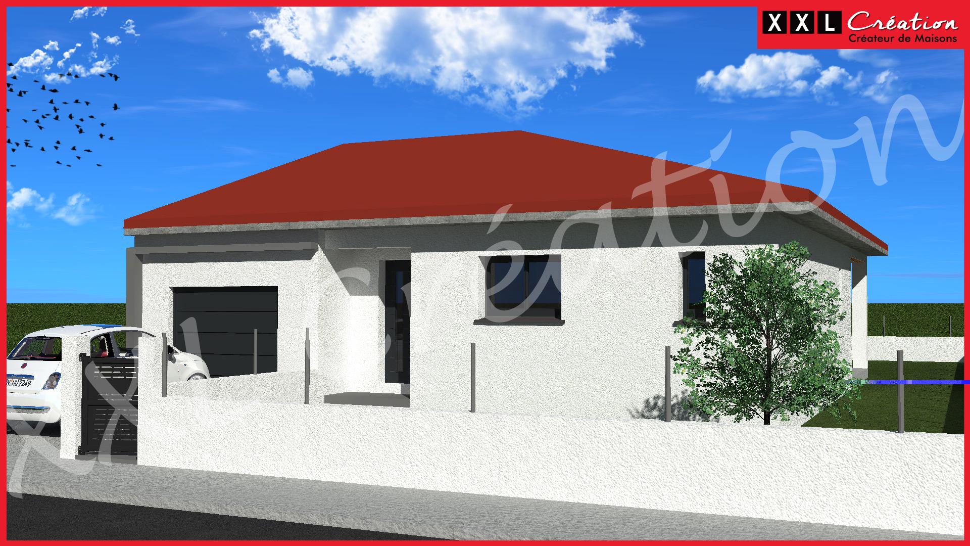 Maisons + Terrains du constructeur XXL CREATION • 80 m² • MAUREILLAS LAS ILLAS