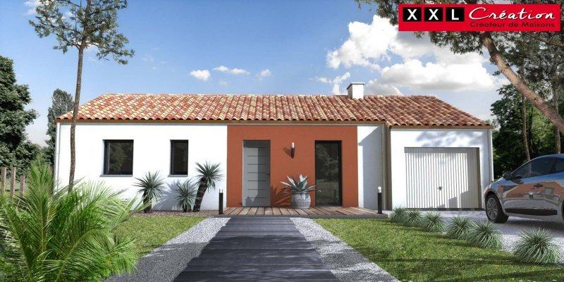 Maisons du constructeur XXL CREATION • 60 m² • LA PALME