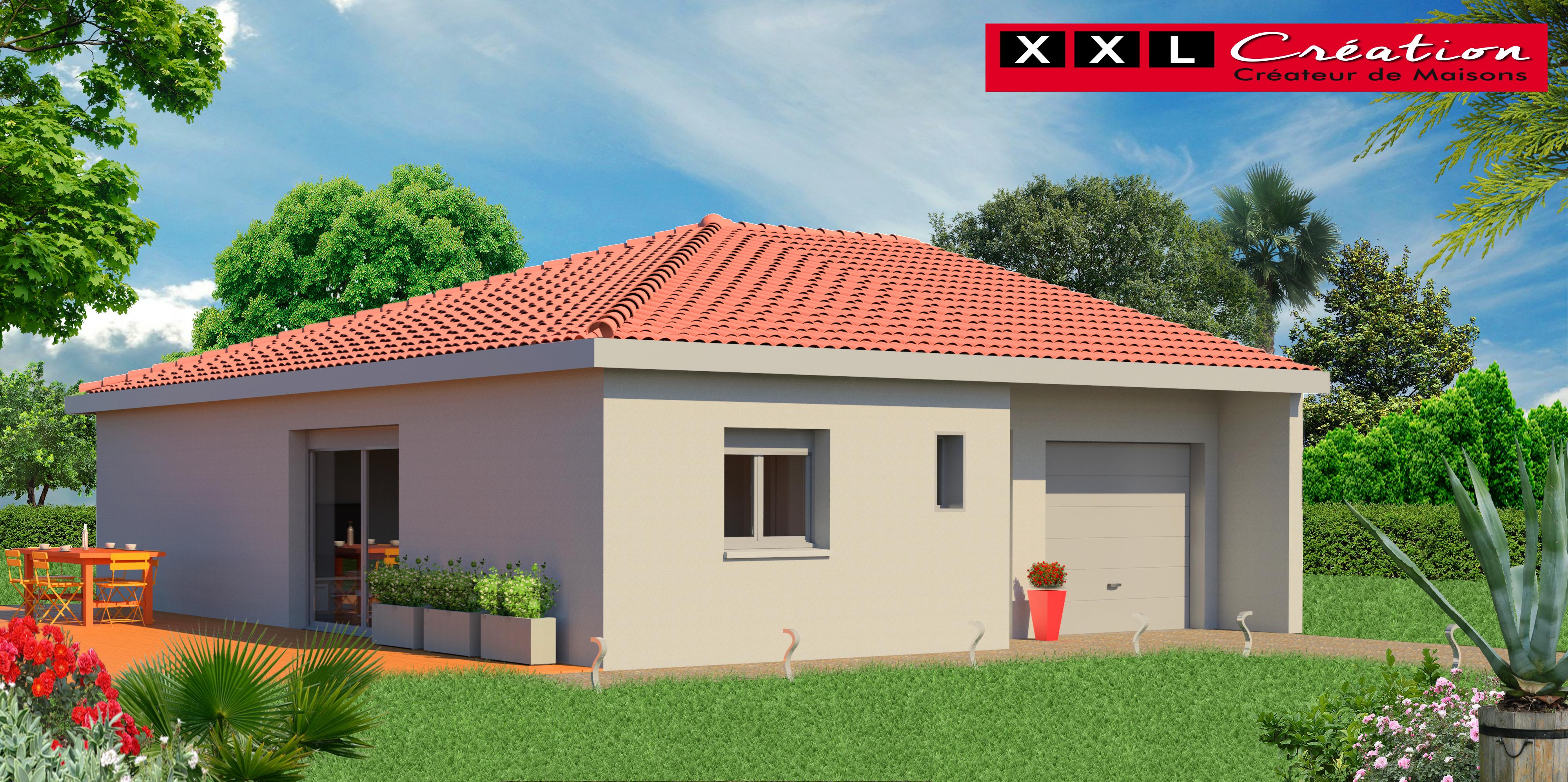 Maisons + Terrains du constructeur XXL CREATION • 140 m² • NEFIACH