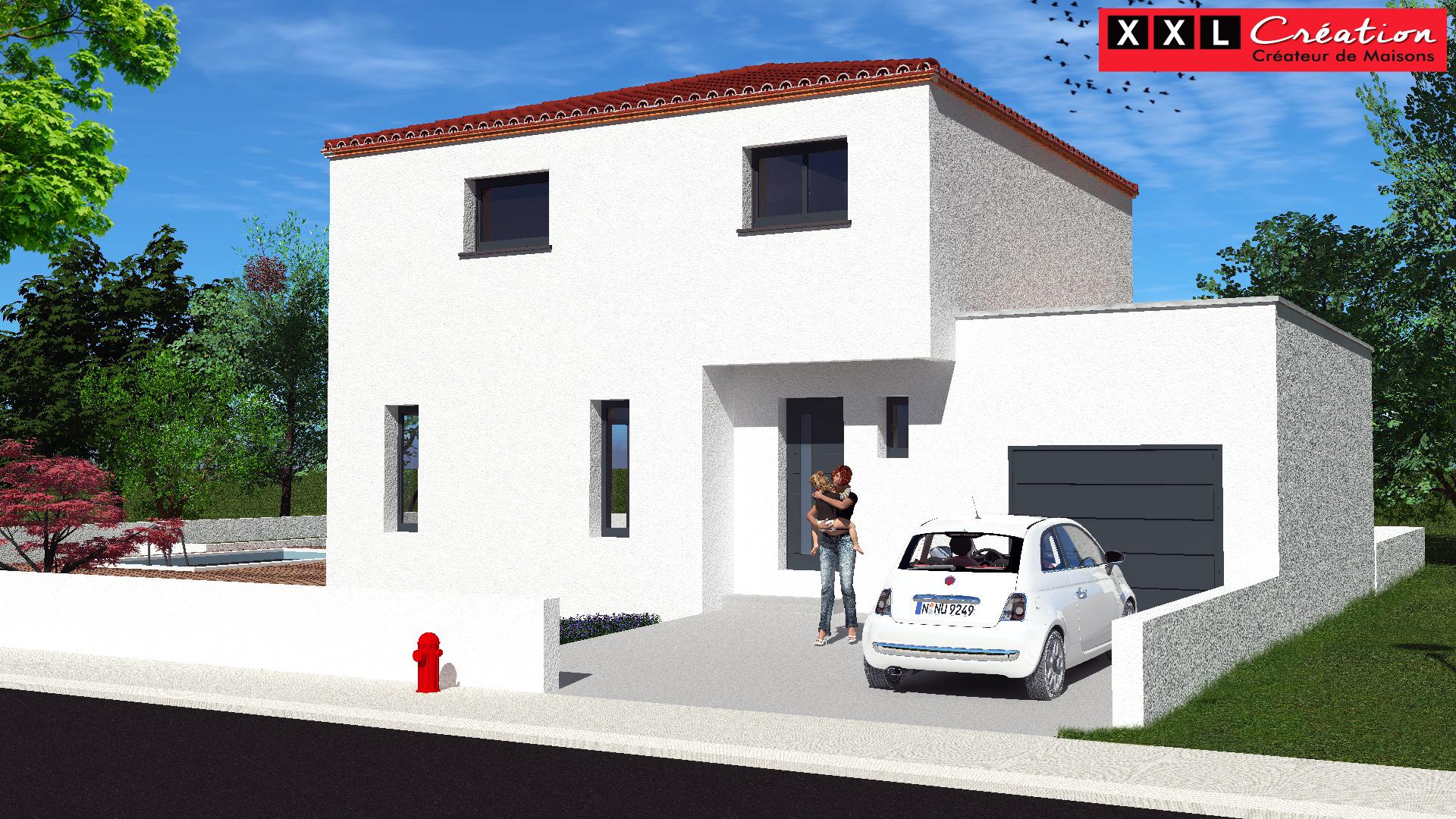 Maisons + Terrains du constructeur XXL CREATION • 95 m² • NEFIACH
