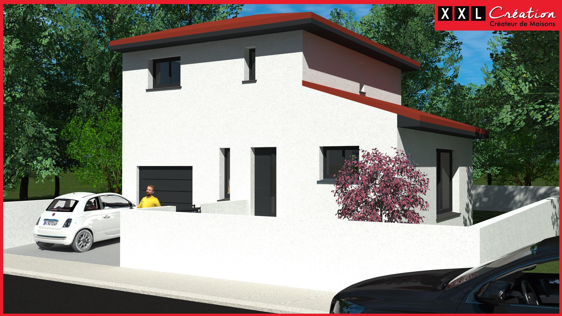 Maisons + Terrains du constructeur XXL CREATION • 90 m² • BAIXAS