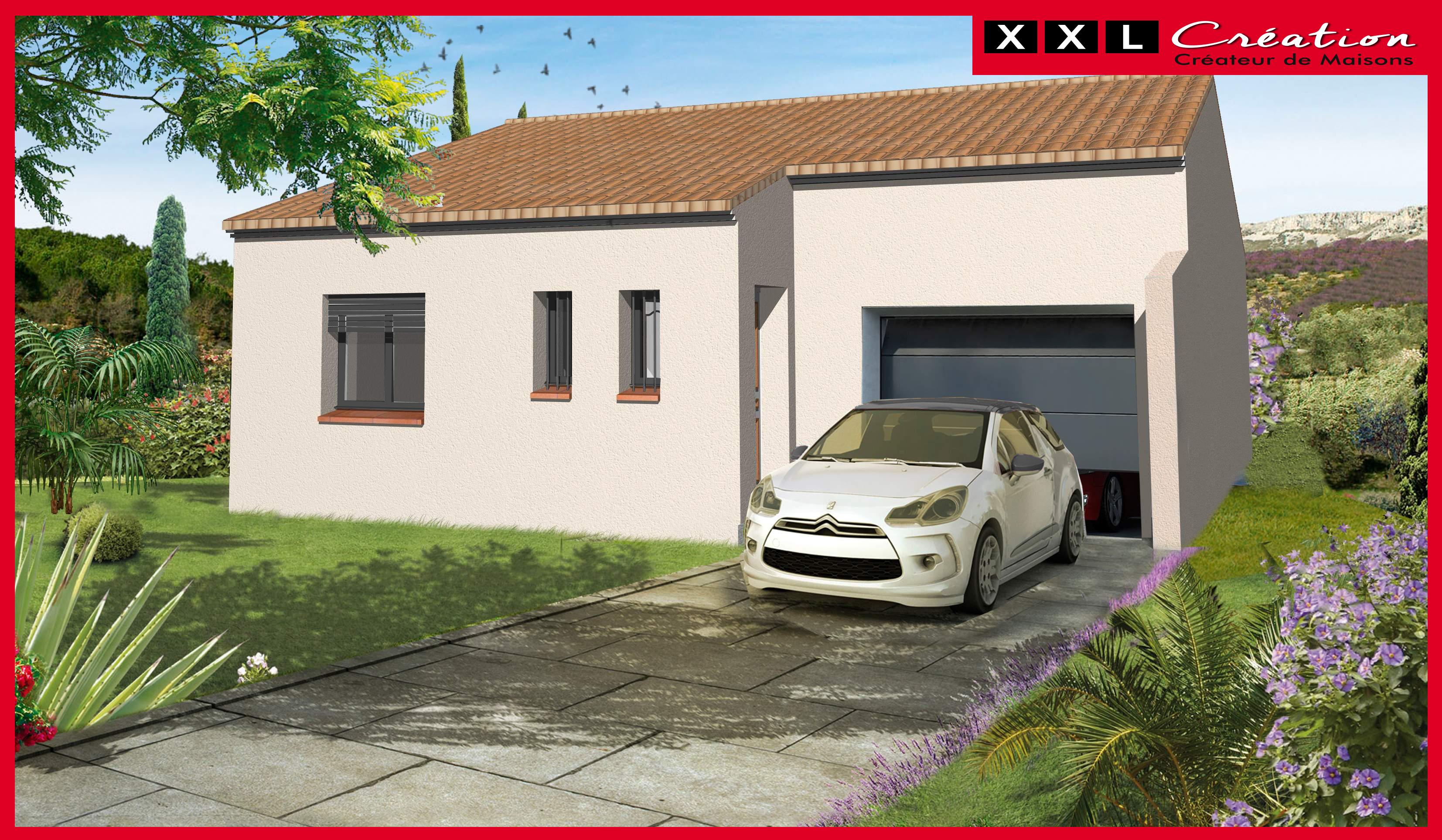 Maisons + Terrains du constructeur XXL CREATION • 60 m² • PIA