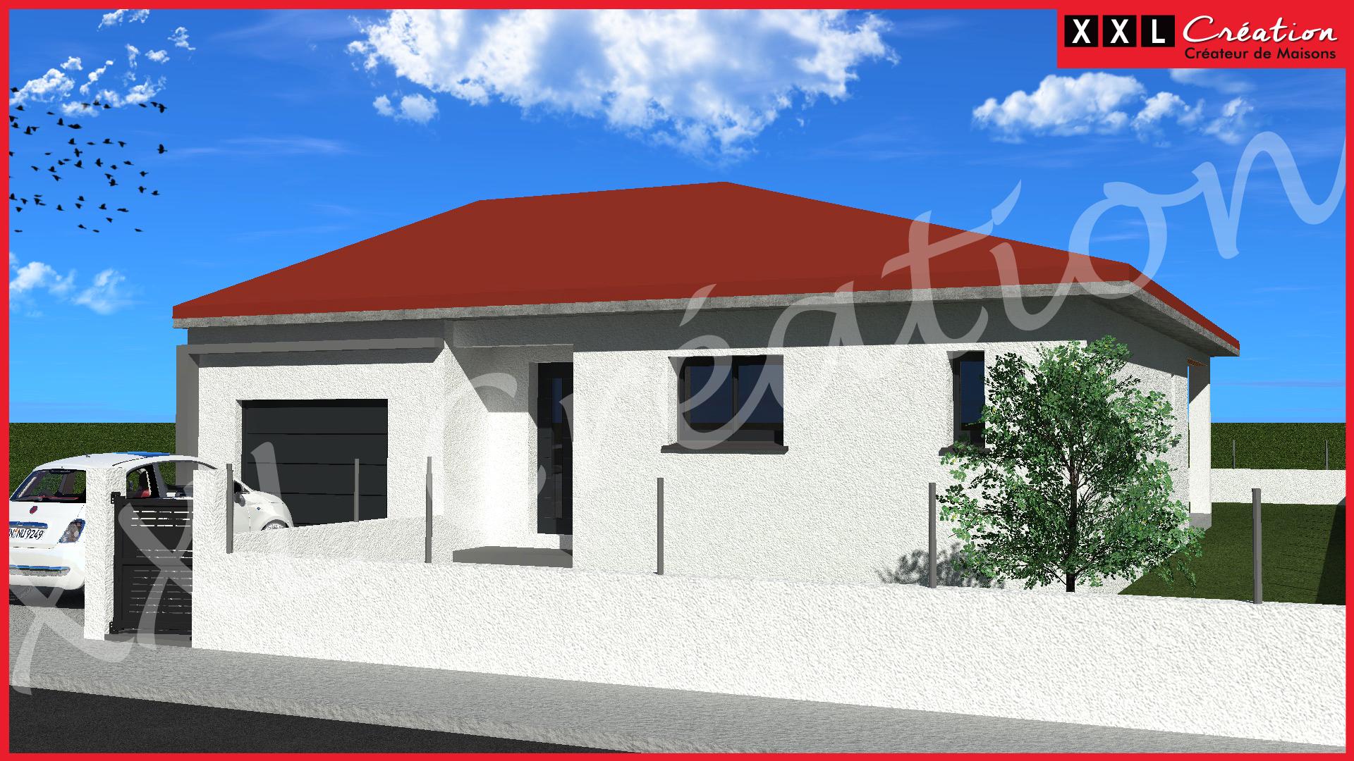 Maisons + Terrains du constructeur XXL CREATION • 70 m² • CORBERE LES CABANES