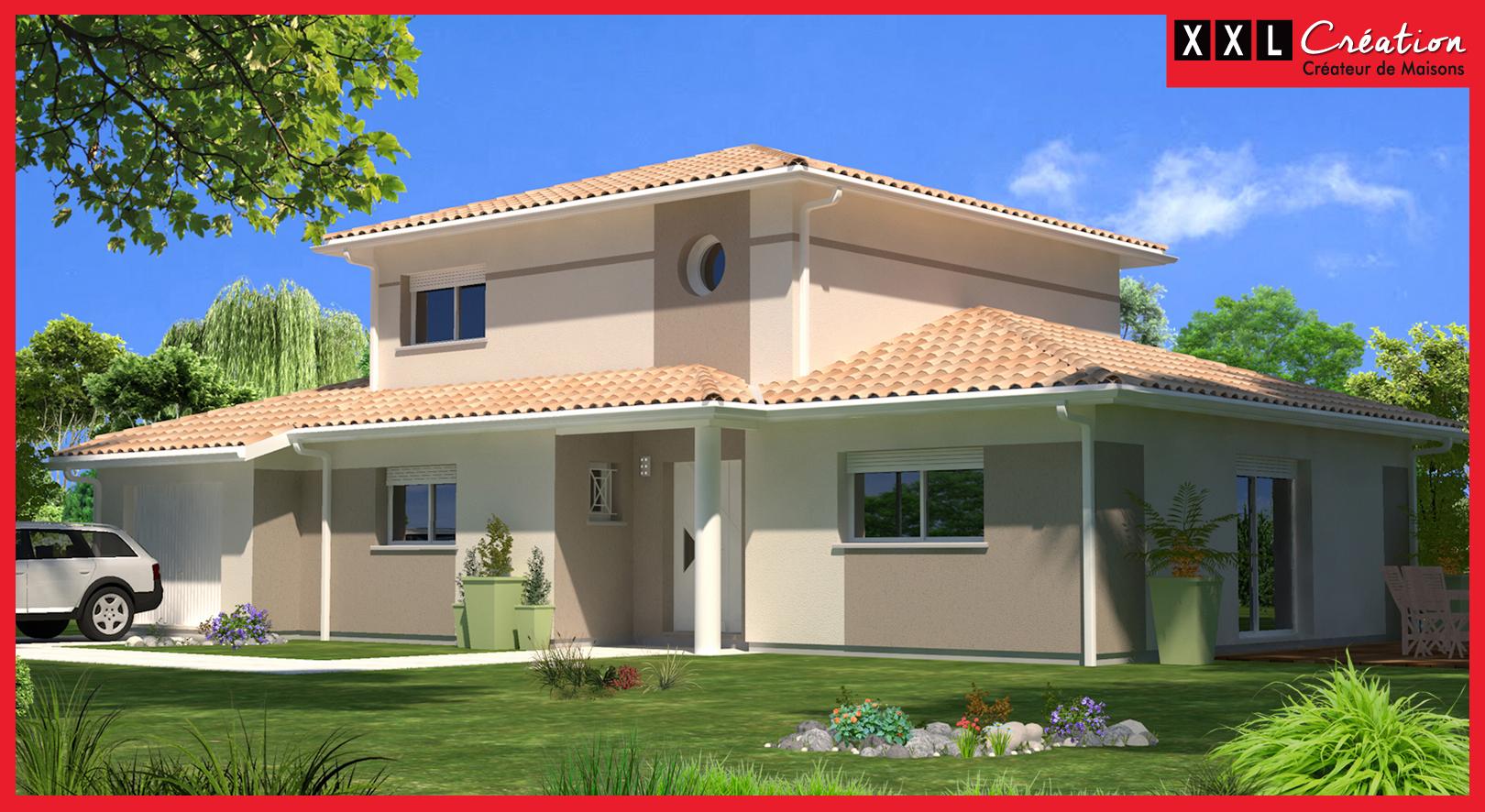 Maisons + Terrains du constructeur XXL CREATION • 110 m² • PERPIGNAN