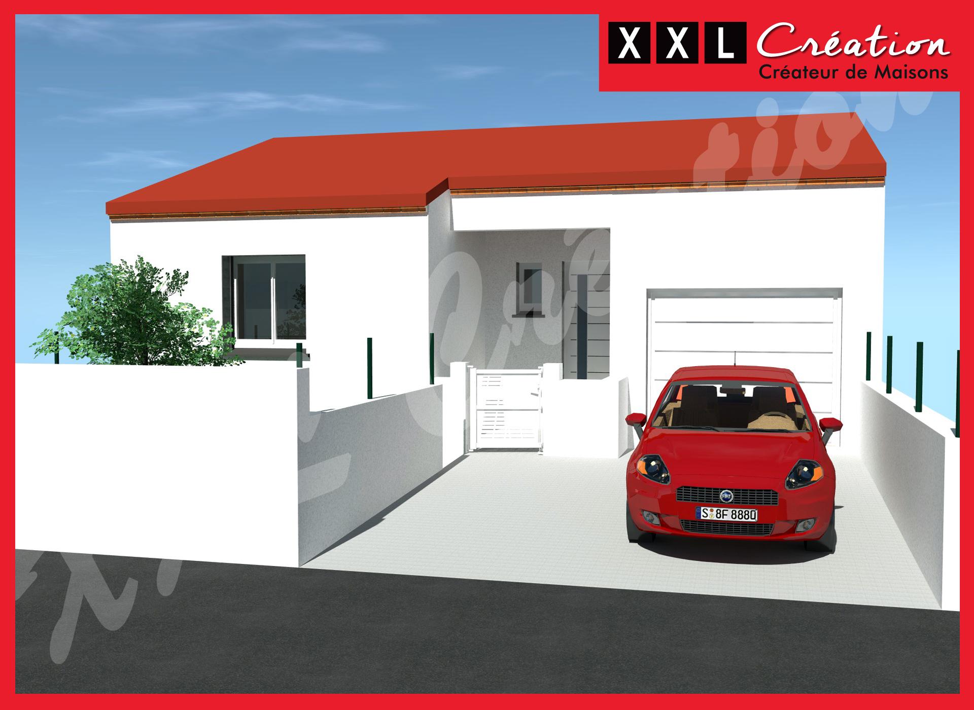 Maisons + Terrains du constructeur XXL CREATION • 60 m² • SAINT GENIS DES FONTAINES