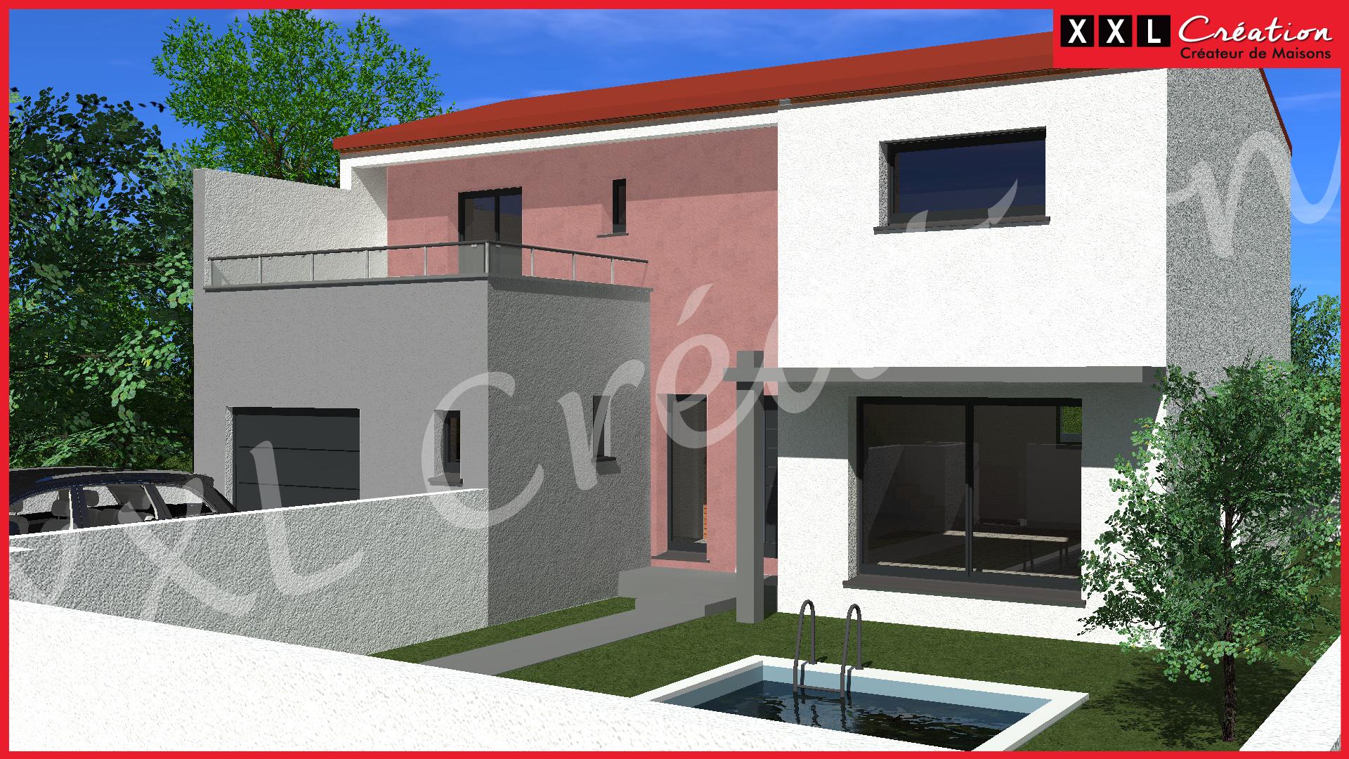 Maisons + Terrains du constructeur XXL CREATION • 100 m² • FOURQUES