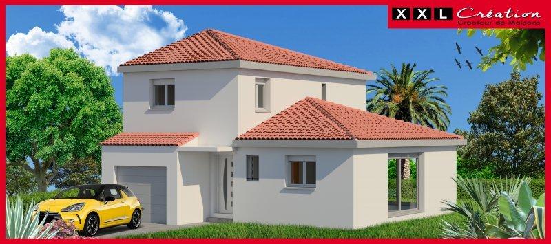 Maisons du constructeur XXL CREATION • 90 m² • LE BOULOU
