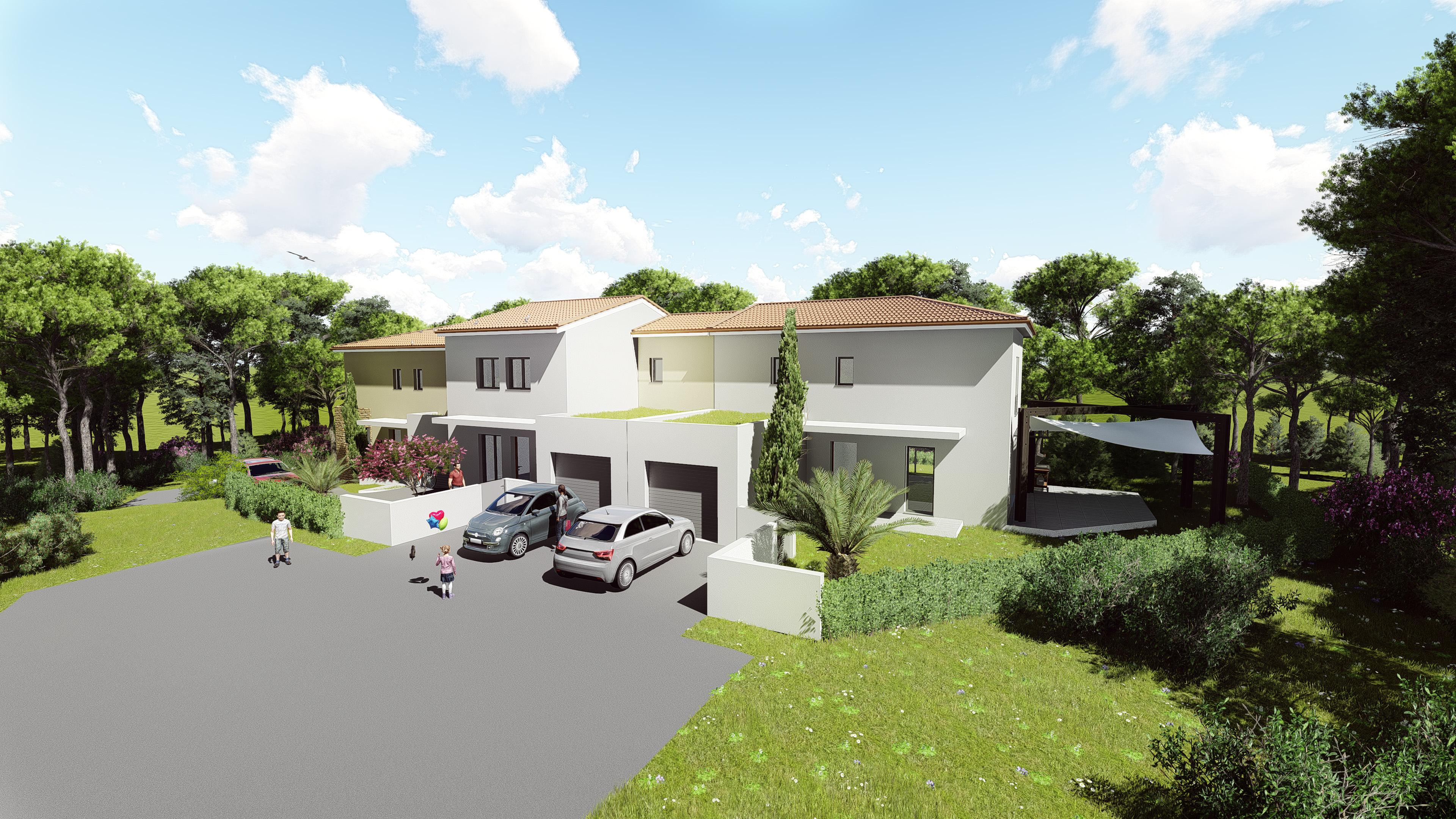 Maisons + Terrains du constructeur MV PROMOTION • 96 m² • MONTFERRIER SUR LEZ