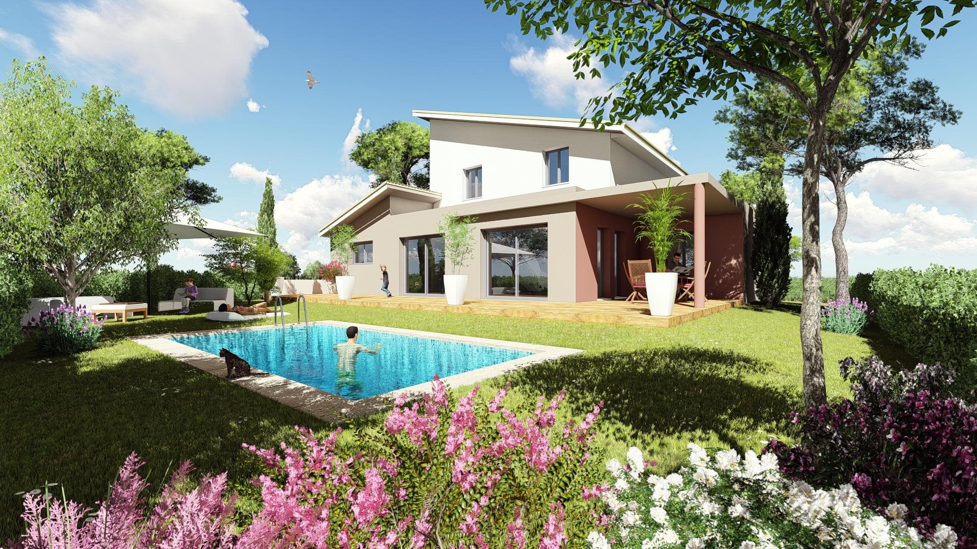 Maisons + Terrains du constructeur MV PROMOTION • 150 m² • MONTFERRIER SUR LEZ