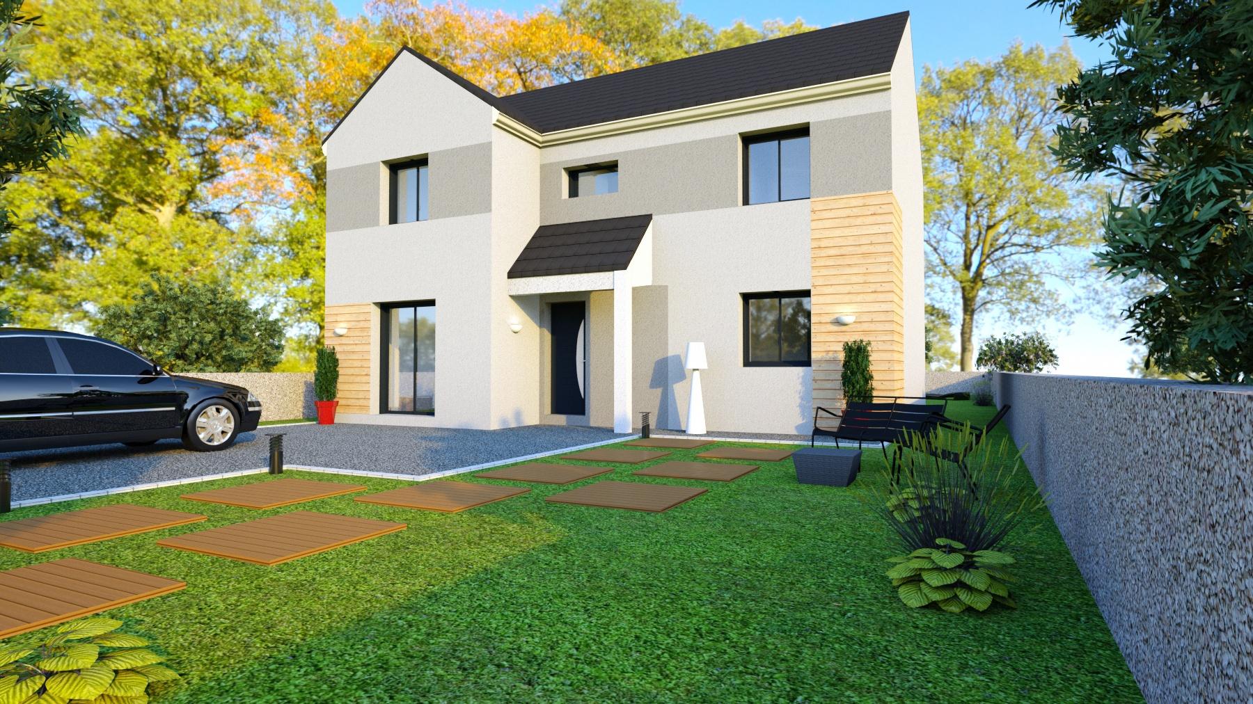 Maisons + Terrains du constructeur LE PAVILLON FRANCAIS • 121 m² • VERNOUILLET