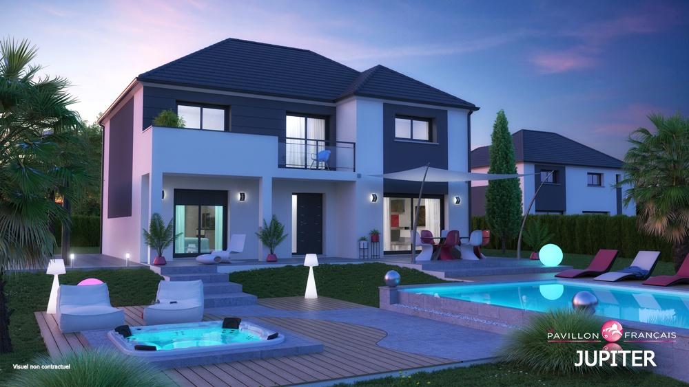 Maisons + Terrains du constructeur LE PAVILLON FRANCAIS • 165 m² • BOUAFLE