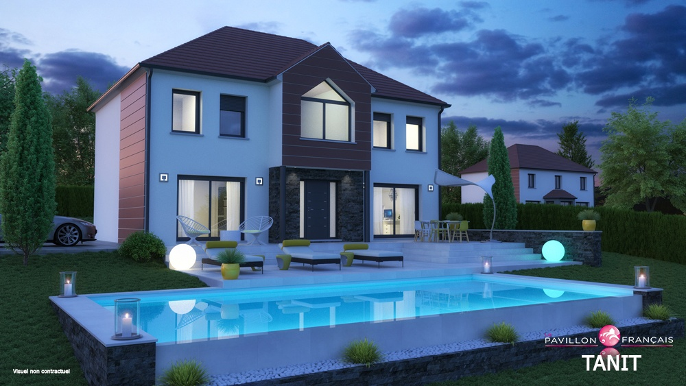 Maisons + Terrains du constructeur LE PAVILLON FRANCAIS • 175 m² • BEYNES