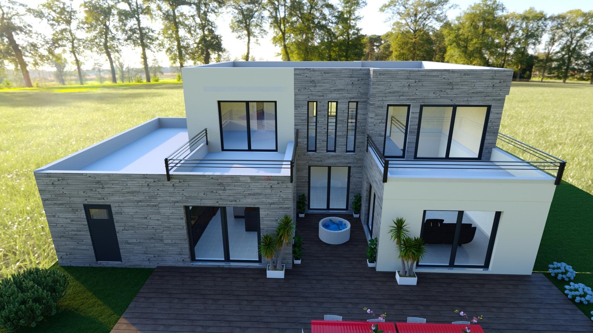 Maisons + Terrains du constructeur LE PAVILLON FRANCAIS • 240 m² • ORGEVAL