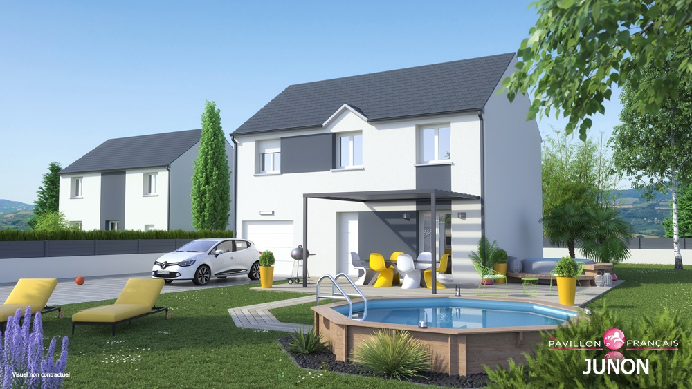 Maisons + Terrains du constructeur LE PAVILLON FRANCAIS • 134 m² • GARGENVILLE