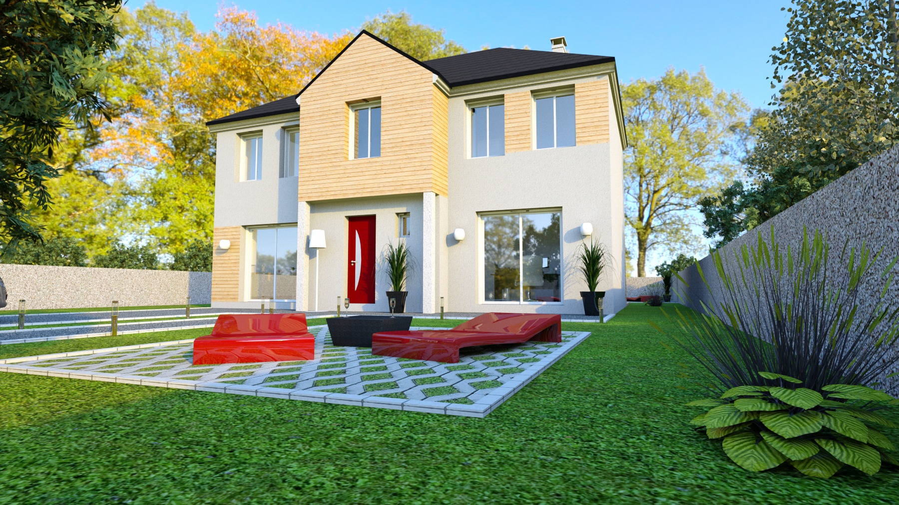Terrains du constructeur LE PAVILLON FRANCAIS •  m² • SONCHAMP