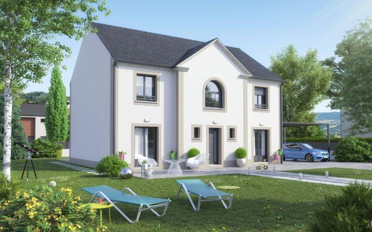 Maisons + Terrains du constructeur LE PAVILLON FRANCAIS • 140 m² • MAGNY LES HAMEAUX