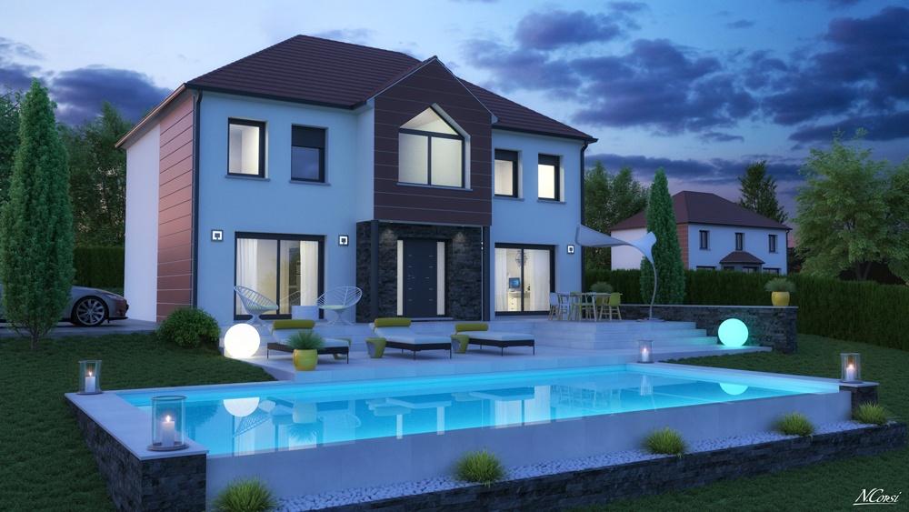 Terrains du constructeur LE PAVILLON FRANCAIS •  m² • MAGNY LES HAMEAUX