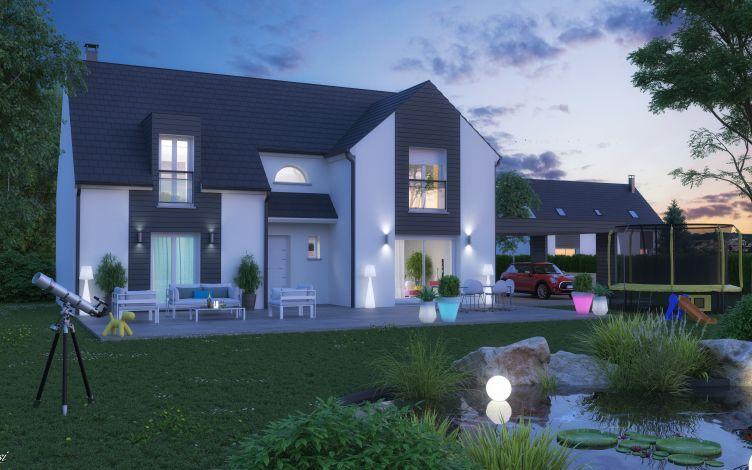 Maisons + Terrains du constructeur LE PAVILLON FRANCAIS • 150 m² • LE MESNIL SAINT DENIS