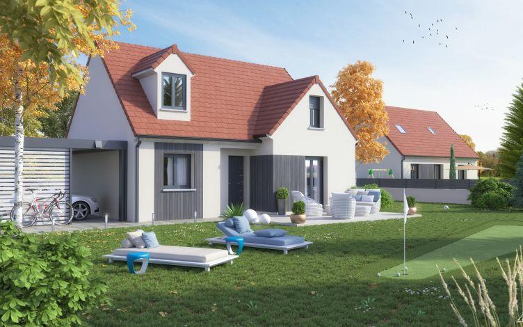 Maisons + Terrains du constructeur LE PAVILLON FRANCAIS • 134 m² • LE MESNIL SAINT DENIS