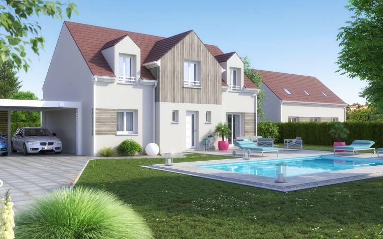 Maisons + Terrains du constructeur LE PAVILLON FRANCAIS • 135 m² • LES ESSARTS LE ROI