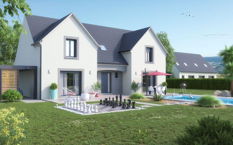 Maisons + Terrains du constructeur LE PAVILLON FRANCAIS • 180 m² • LES ESSARTS LE ROI