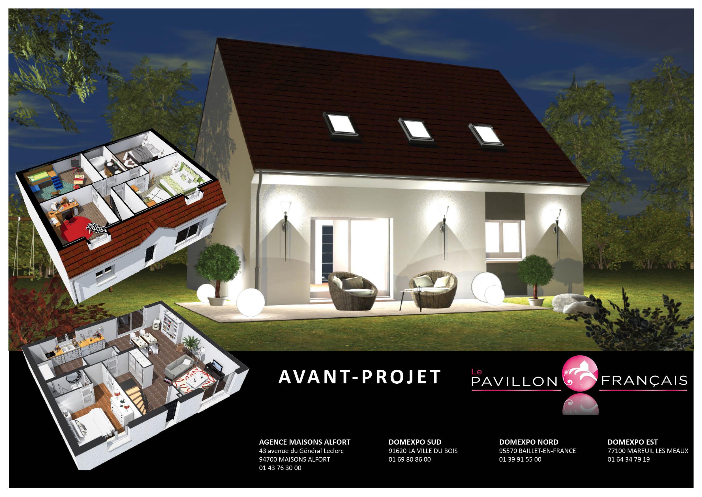 Maisons + Terrains du constructeur LE PAVILLON FRANCAIS • 100 m² • LES ESSARTS LE ROI