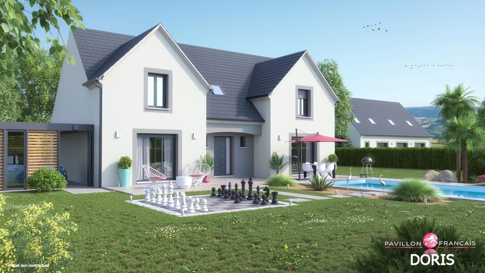 Terrains du constructeur LE PAVILLON FRANCAIS •  m² • MORAINVILLIERS