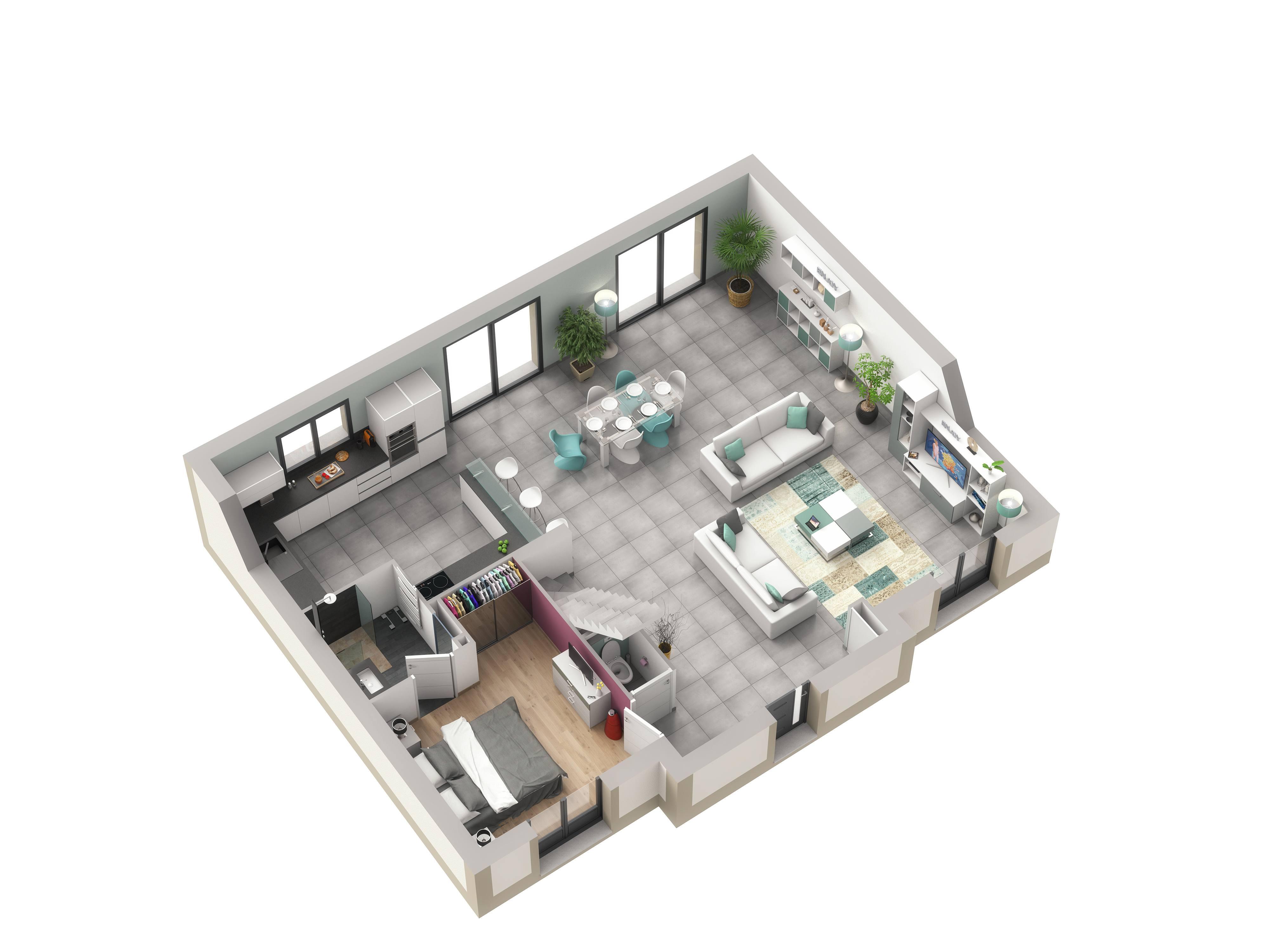 Maisons + Terrains du constructeur LE PAVILLON FRANCAIS • 140 m² • LE MESNIL SAINT DENIS