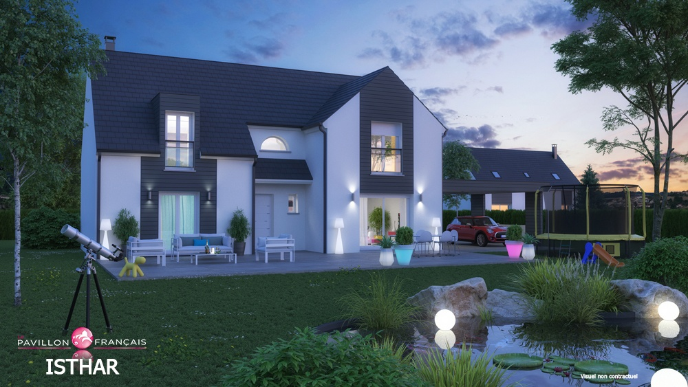 Terrains du constructeur LE PAVILLON FRANCAIS •  m² • ANDELU