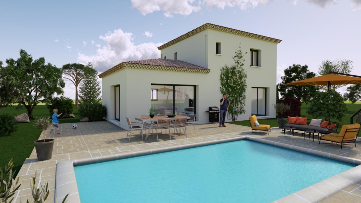 Maisons du constructeur TRADICONFORT 13 • 90 m² • AURIOL