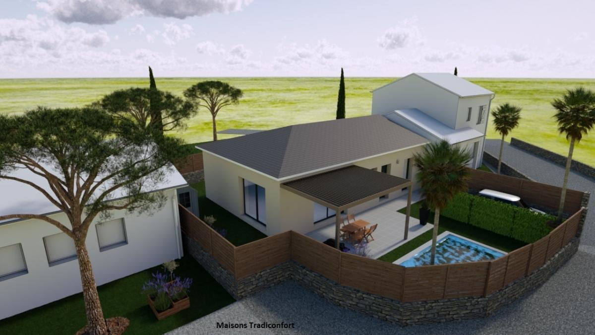 Maisons du constructeur TRADICONFORT 13 • 73 m² • VIDAUBAN