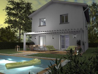 Maisons du constructeur TRADICONFORT 13 • 91 m² • PIERREFEU DU VAR