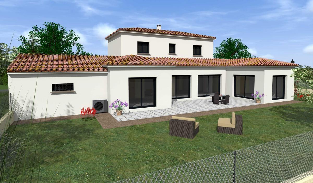Maisons du constructeur TRADICONFORT 13 • 120 m² • ROQUEBRUNE SUR ARGENS