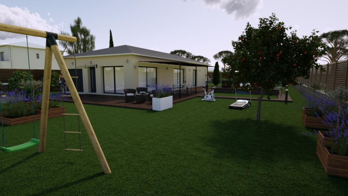Terrains du constructeur TRADICONFORT 13 • 840 m² • VIDAUBAN