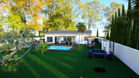 Maisons du constructeur TRADICONFORT 13 • 96 m² • CUGES LES PINS