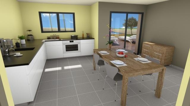 Maisons + Terrains du constructeur MAISON FAMILIALE • 118 m² • PRADES LE LEZ