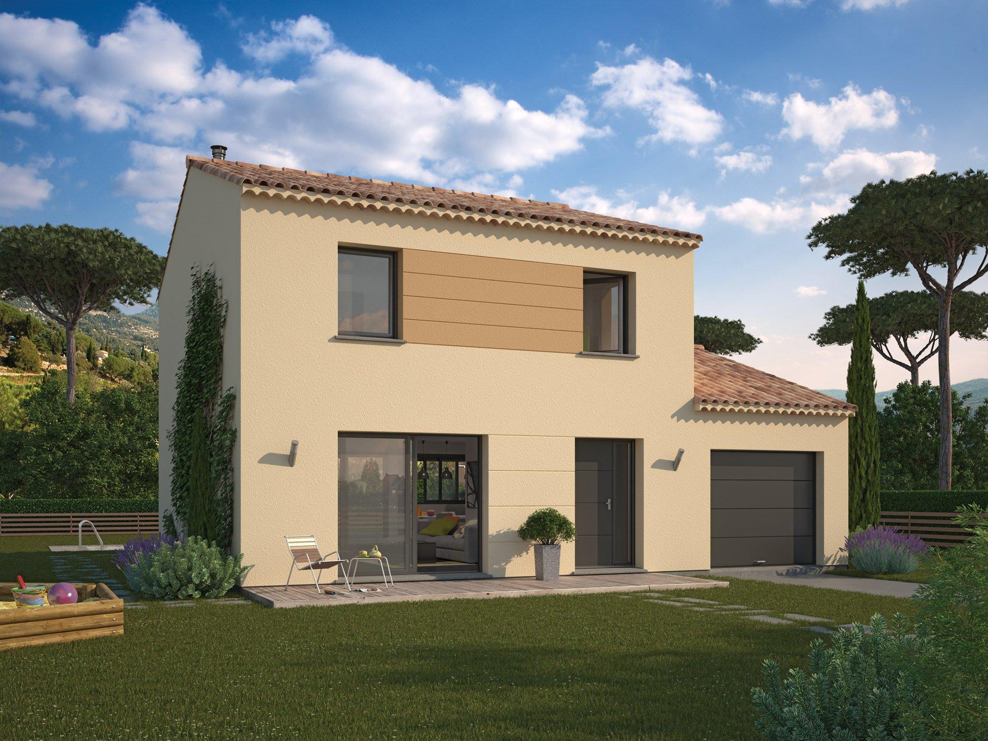Maisons + Terrains du constructeur MAISON FAMILIALE • 98 m² • RESTINCLIERES