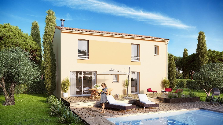 Maisons + Terrains du constructeur MAISON FAMILIALE • 98 m² • MARSEILLAN