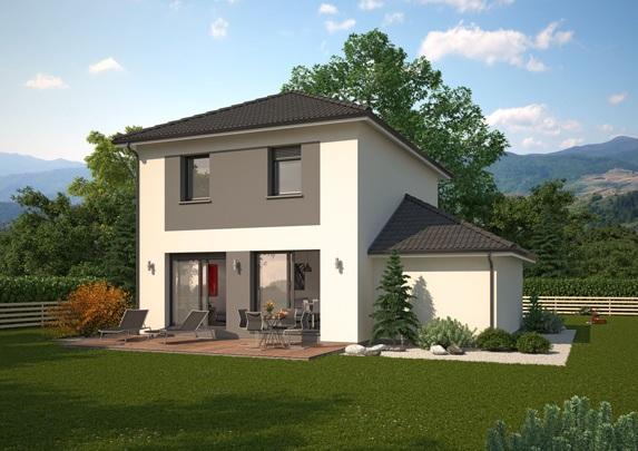Maisons + Terrains du constructeur MAISON FAMILIALE • 111 m² • SILLEGNY