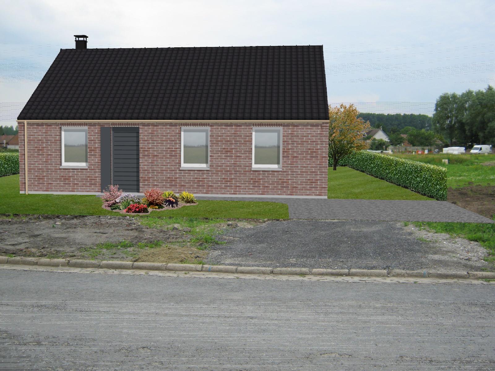 Maisons + Terrains du constructeur MAISONS PHENIX GAVRELLE • 70 m² • MAZINGARBE