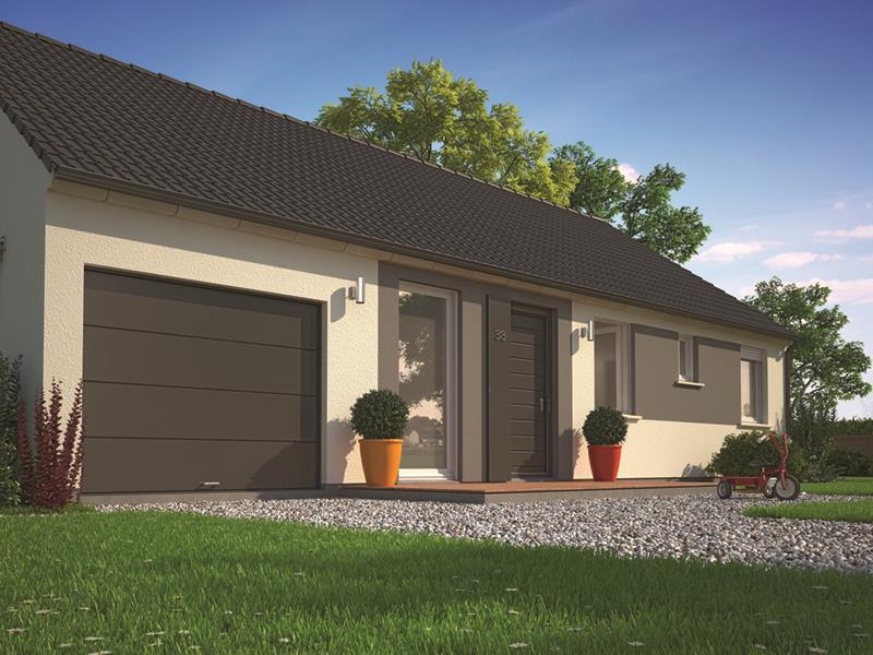 Maisons + Terrains du constructeur MAISONS PHENIX GAVRELLE • 80 m² • MAZINGARBE