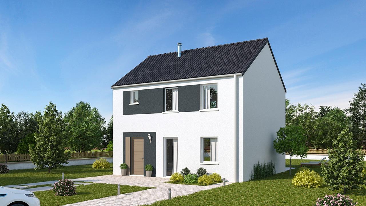 Maisons + Terrains du constructeur MAISONS PHENIX GAVRELLE • 107 m² • RECOURT