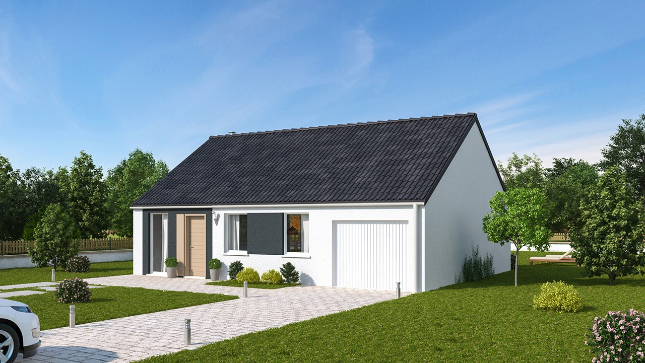 Maisons + Terrains du constructeur MAISONS PHENIX GAVRELLE • 74 m² • ANZIN SAINT AUBIN
